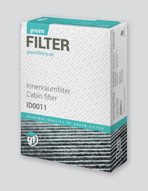 GKI CF1272 Cabin Air Filter